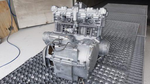 motor sandstrahlen