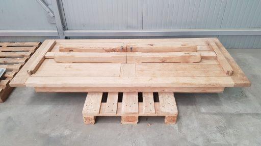 Holztisch entlackt